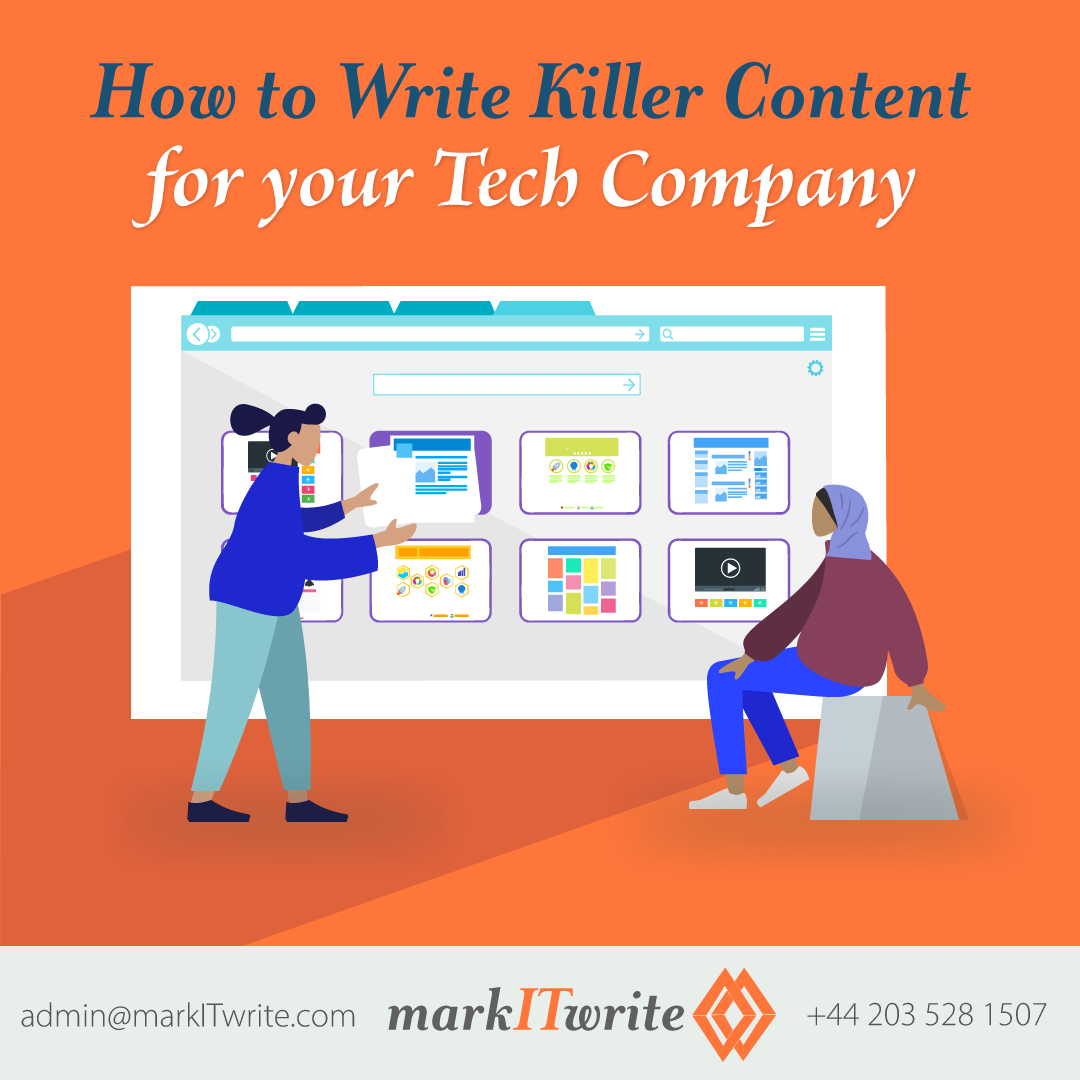 How to Write Killer Content for Your Tech Company