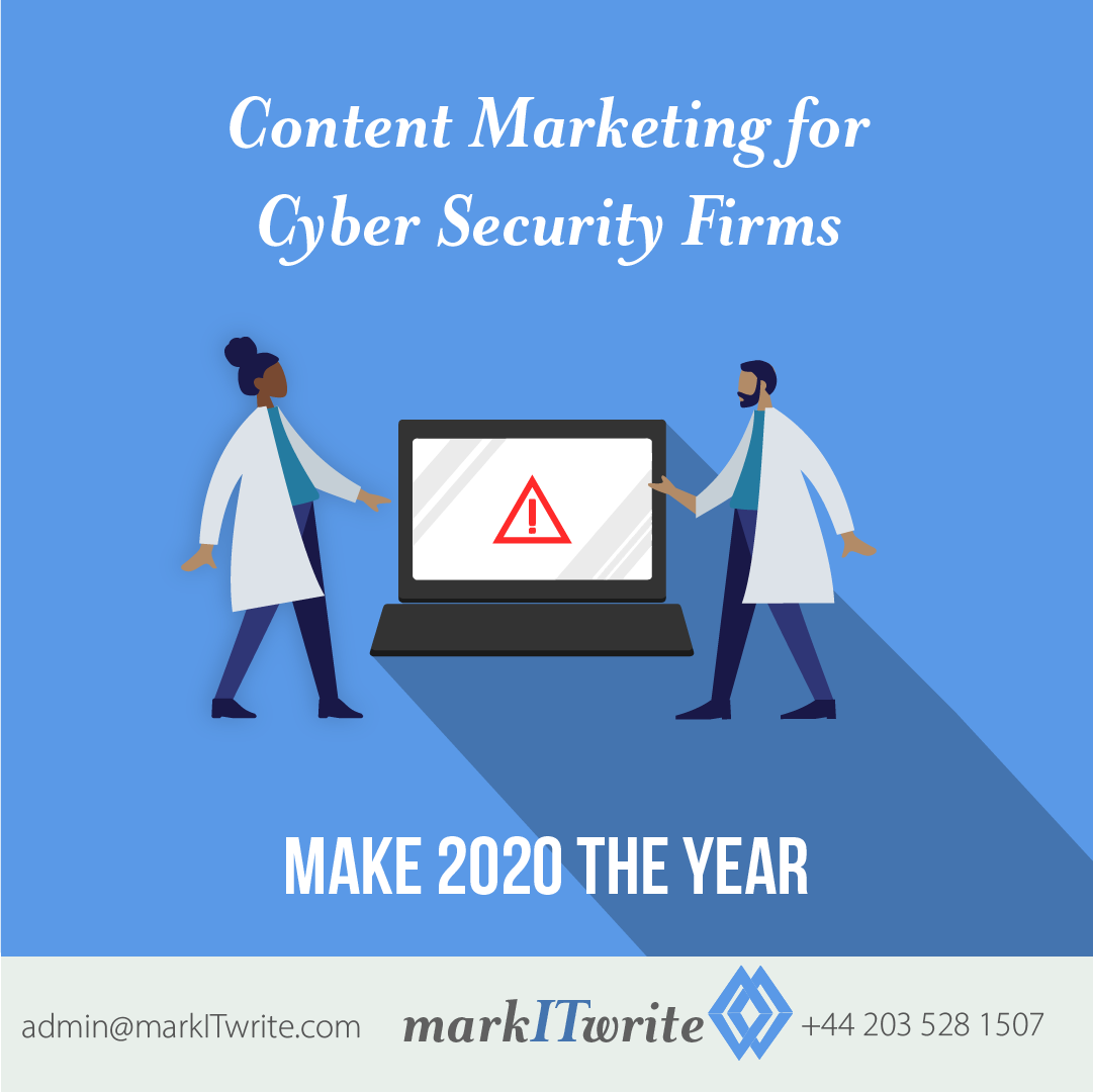 Content Marketing for Cyber Security Firms – Make 2020 the Year