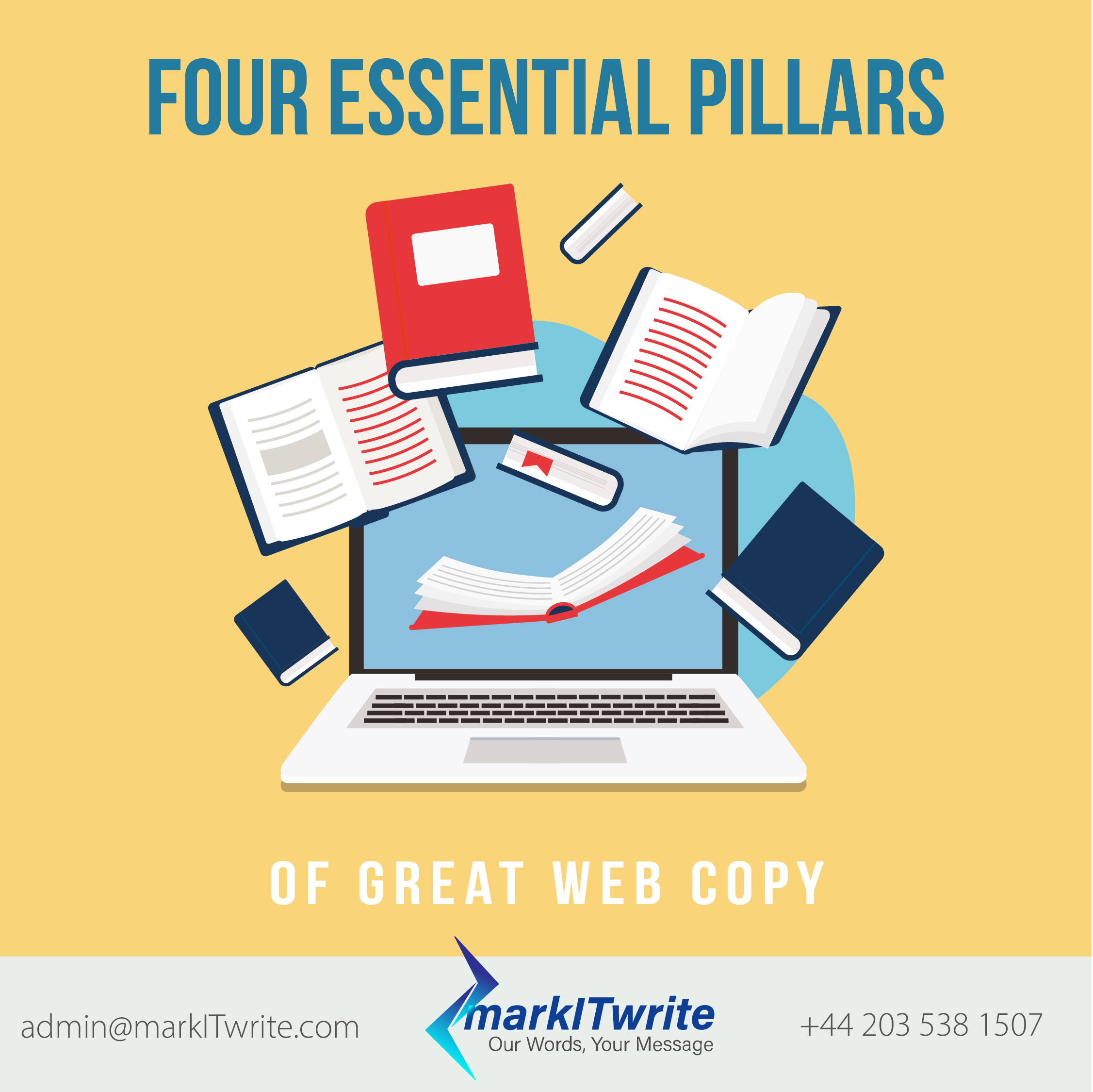 Four Essential Pillars of Great Web Copy