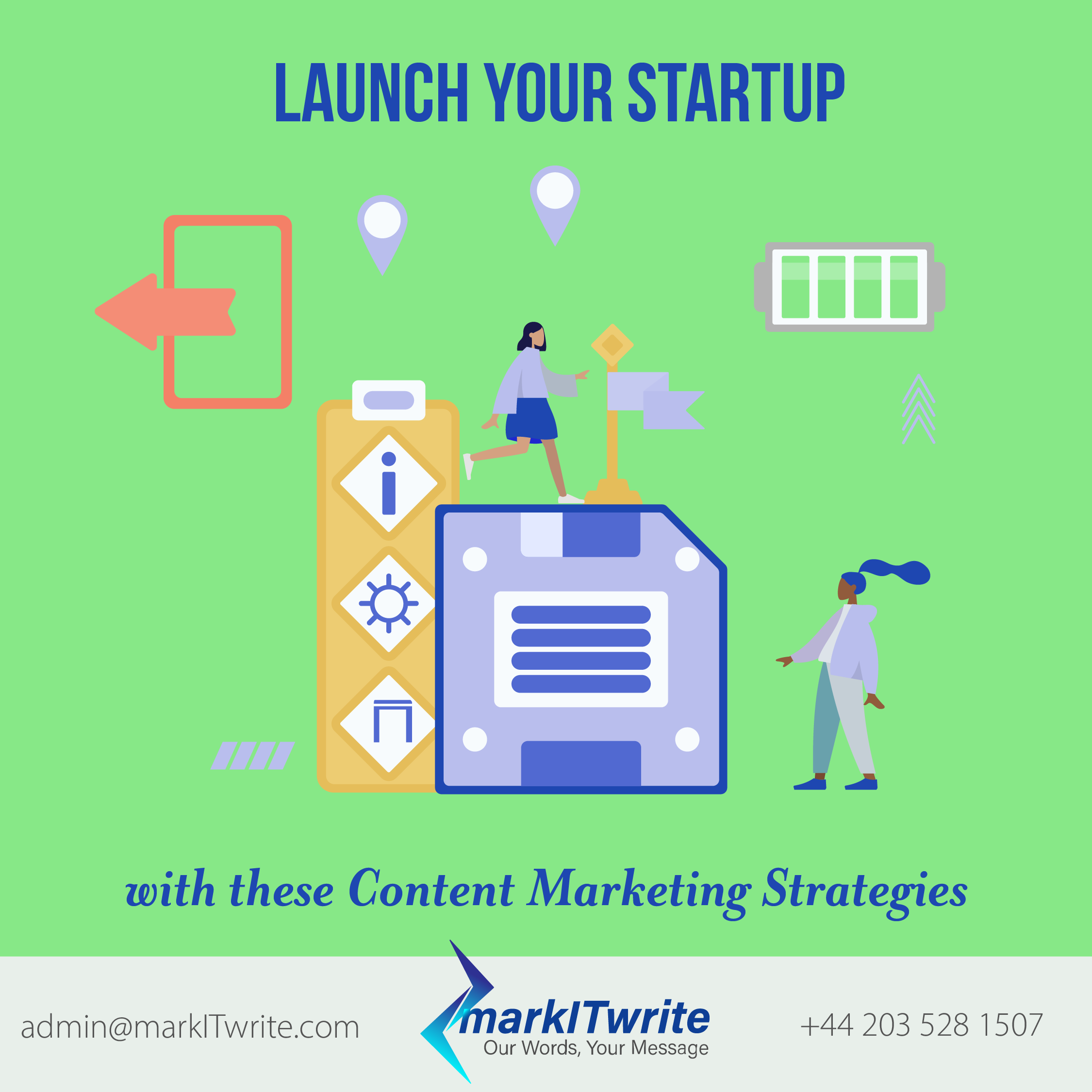 Launch Your Start-Up with these Content Marketing Strategies