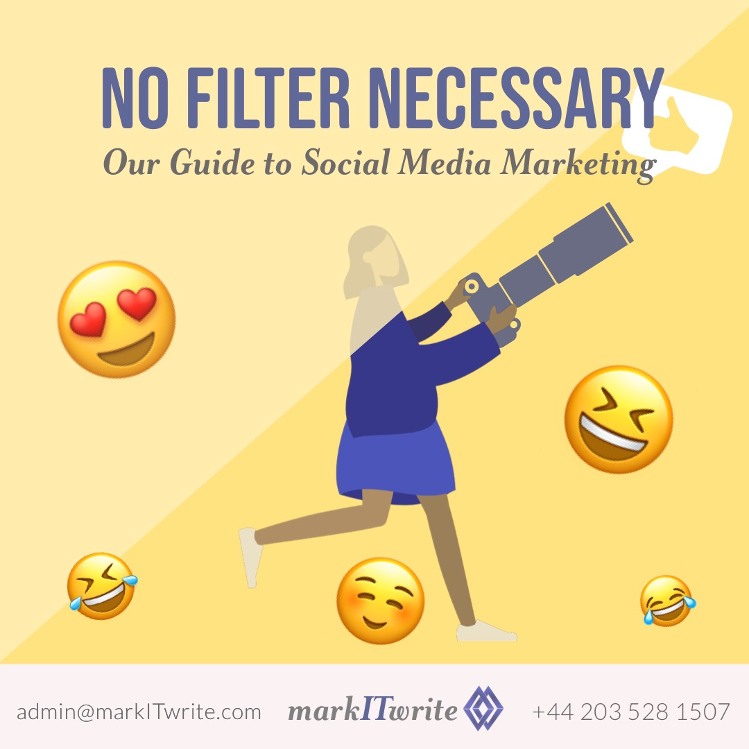 #NoFilter Necessary with Our Guide to Social Media Marketing